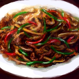 青椒肉絲の画像 p1_3
