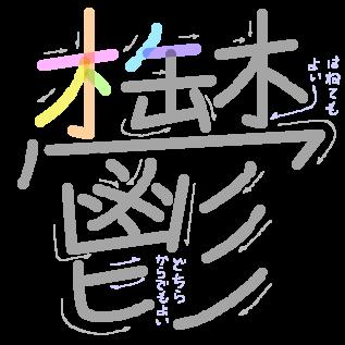 鬱の筆順2