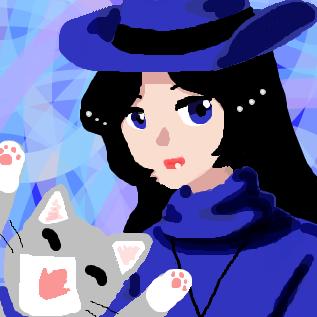 南斗夏姫と飼い猫んにゃん