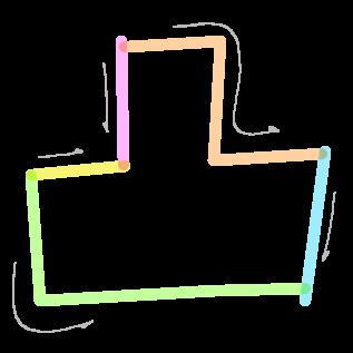 凸の筆順2