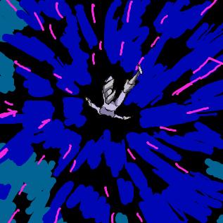 伝説の決闘者のカードと対面してブッ飛ぶドルべさん