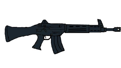 アサルトライフル 突撃銃 89式小銃(模写)