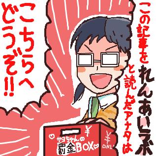 サヨちゃんの罰金BOX