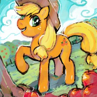 アップルジャックのお絵カキコ