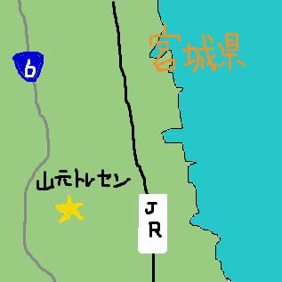 山元トレセンの場所