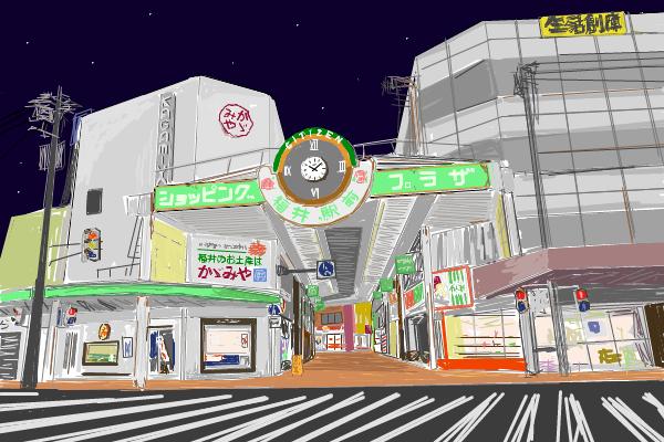 ある意味、駅前商店街、電車通りの「顔」といえた建物ではないでしょうか。・・・ほていや?