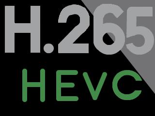 H.265ロゴ