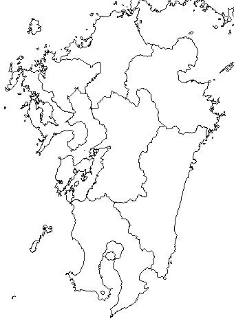 現在の九州