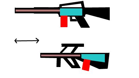小銃 ブルパップ 比較