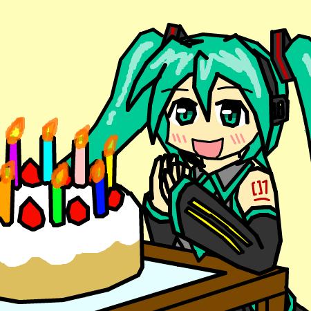 誕生日おめっとう!
