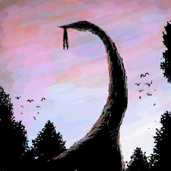 無人島の奇獣