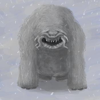 雪山の奇獣