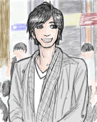 5月27日「直江状」朗読のときのお衣装
