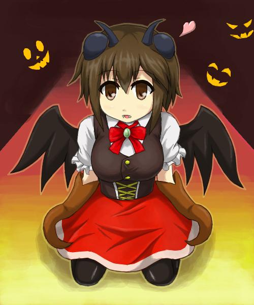 ハロウィンセーミちゃん