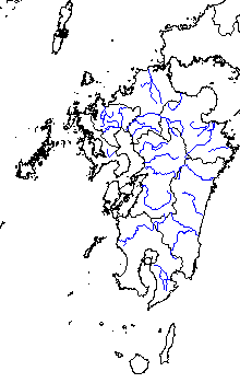 九州の一級河川