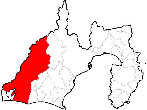 浜松市の位置