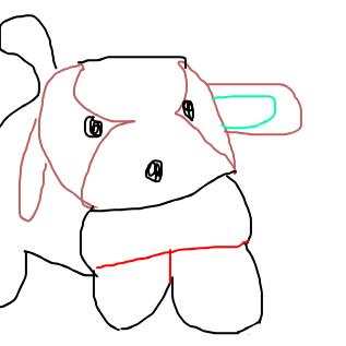 愛犬ロボ「てつ」