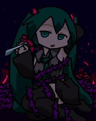 † 闇の中の茨姫 †
