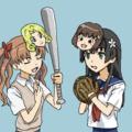 とある科学の野球娘。