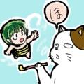 一服こたつ猫&テンちゃん by 6gatu