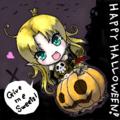 ハロウィンだからかぼちゃっ子