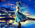 水辺の天子