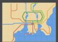 バトルサブウェイ路線図