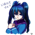 いまいちちゃん:もえ・・るかなあ? by nonko