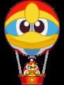 デデデ ライドin気球