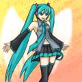 ELECTRIC ANGEL(線画練習)