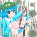 銘酒「毛玉」(ただし工業用アルコール)