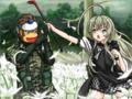 ニャル子 vs BIG SARU