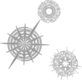 ヴァンガードサークル:黒【壁紙】